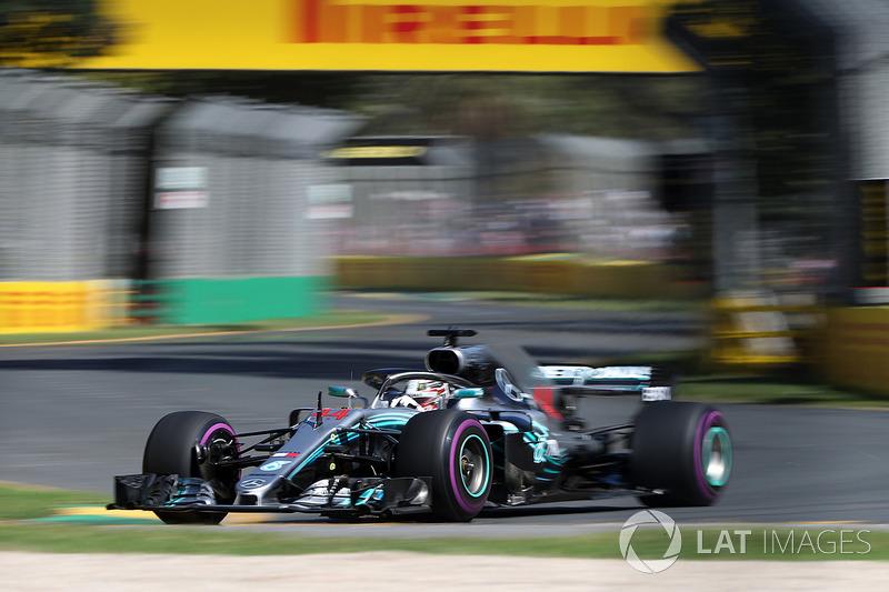1. Lewis Hamilton, Mercedes-AMG F1 W09 EQ Power+