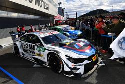 De wagen van Augusto Farfus, BMW Team RMG, BMW M4 DTM