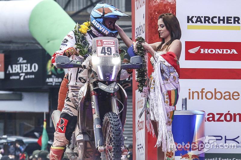 #49 Hero Motorsports Team Rally: Сі-Еш Сантош та грід-гьол