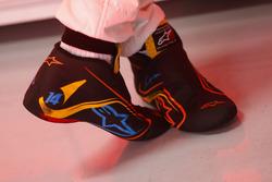 Гоночные ботинки Фернандо Алонсо, McLaren