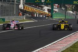 Естебан Окон, Force India VJM11, Карлос Сайнс-мол., Renault Sport F1 Team R.S. 18