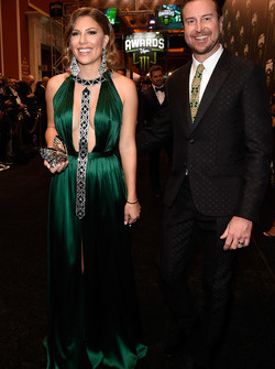 Kurt Busch ve eşi Ashley Busch