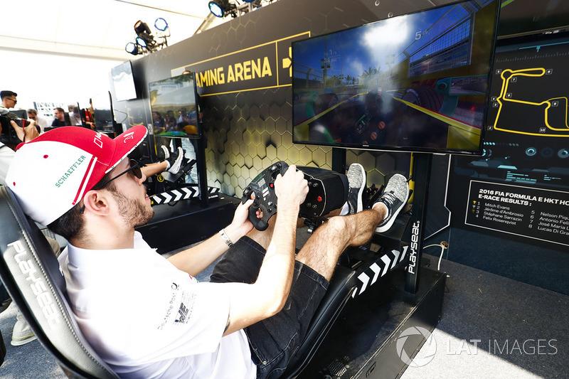 Daniel Abt, Audi Sport ABT Schaeffler, en la eRace