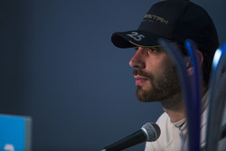 second place Jean-Eric Vergne, Techeetah, in the press conference