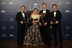 Petter Solberg, Pernilla Solberg, Johan Kristoffersson, Mattias Ekström