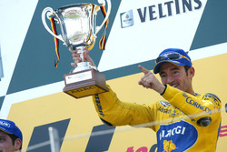 Podium: Race winner Max Biaggi, Yamaha