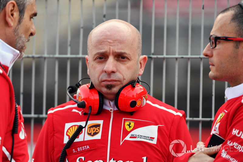 Simone Resta, diseñador jefe de Ferrari