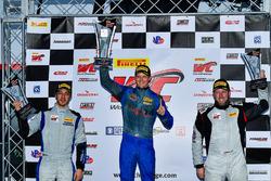 #21 Muehlner Motorsports America Porsche Cayman GT4 Clubsport MR: Gabriele Piana, #1 Blackdog Speed Shop Chevrolet Camaro GT4.R: Lawson Aschenbach, #12 Ian Lacy Racing Ginetta G55: Drew Staveley