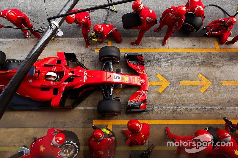 3. Scuderia Ferrari