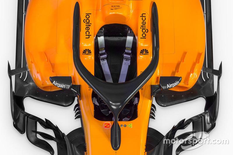 McLaren MCL33 halo detay