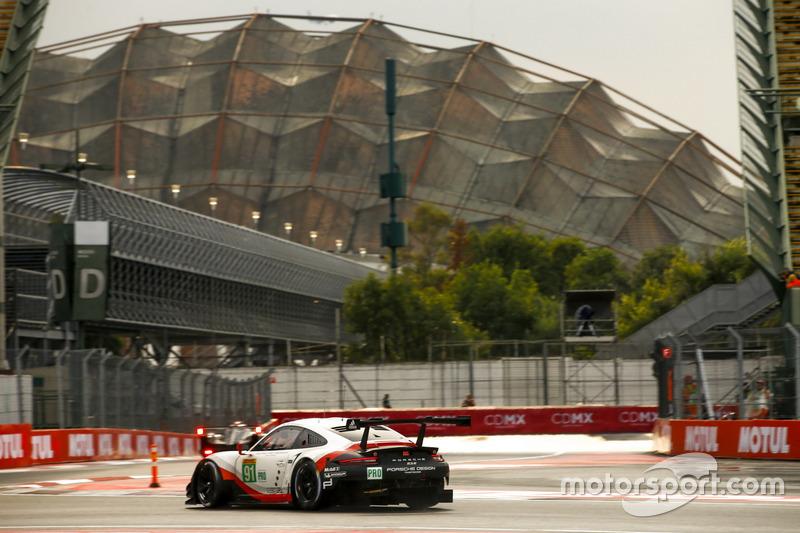 7. #91 Porsche Team Porsche 911 RSR: Richard Lietz, Frédéric Makowiecki