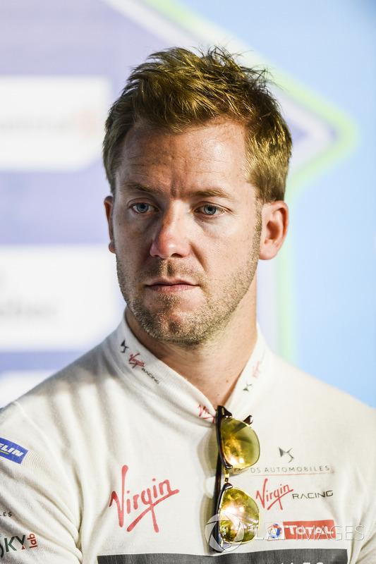 Sam Bird, DS Virgin Racing, en la conferencia de prensa