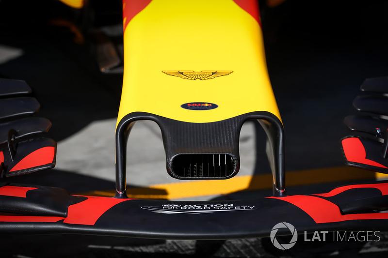 Red Bull RB13: Nase und Frontflügel