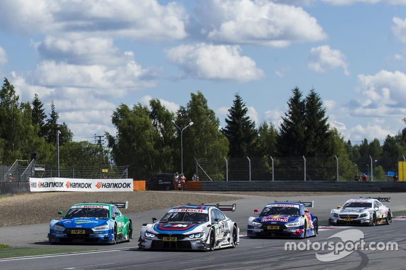 Лоік Дюваль, Audi Sport Team Phoenix, Audi RS 5 DTM, Том Бломквіст, BMW Team RBM, BMW M4 DTM