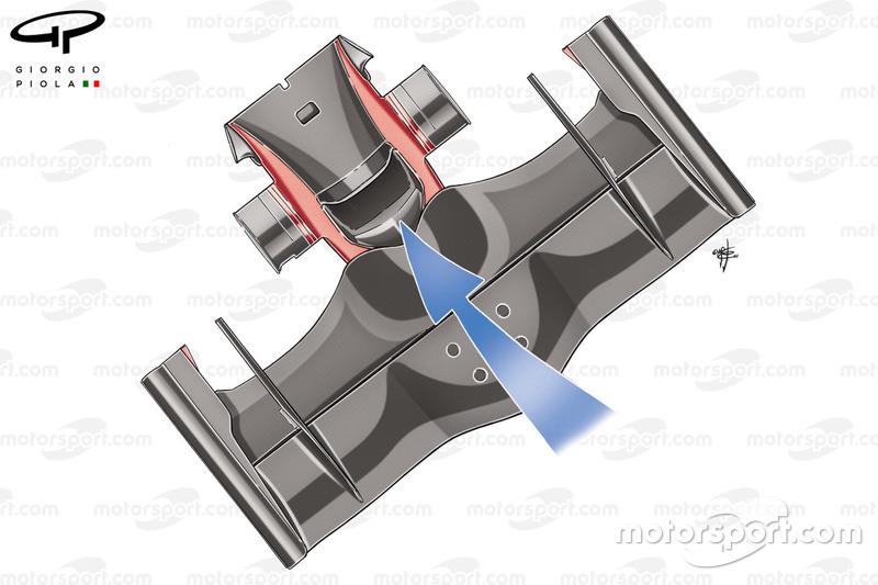 """تفاصيل أنف وقناة """"اس"""" على سيارة فيراري إف2008"""