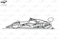 McLaren MP4-1E 1983 schematic
