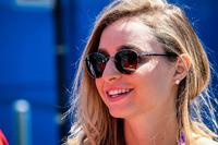 Bianca Diniz Caloi, girlfriend of Lucas di Grassi, ABT Schaeffler Audi Sport