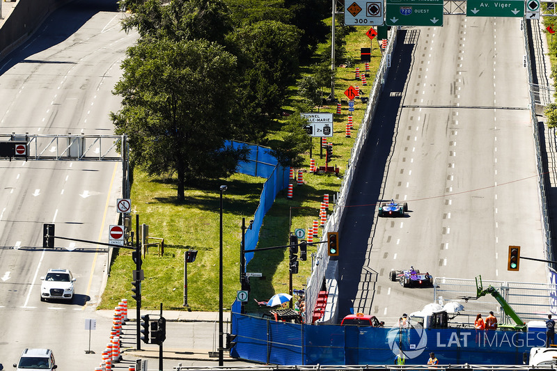 Antonio Felix da Costa, Amlin Andretti Formula E Team, y  Sam Bird, DS Virgin Racing