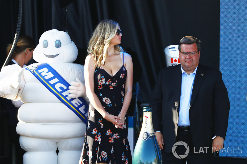 Denis Coderre, Mayor of Montreal, Kate Upton