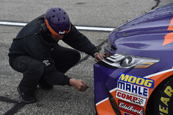 Denny Hamlin, Joe Gibbs Racing Toyota miembro del equipo