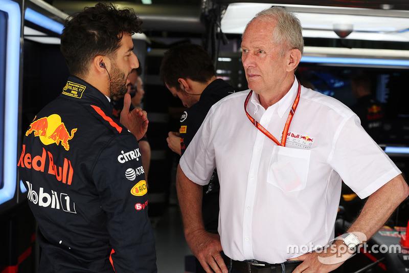 Даніель Ріккардо, Red Bull Racing, консультант Red Bull Racing Гельмут Марко