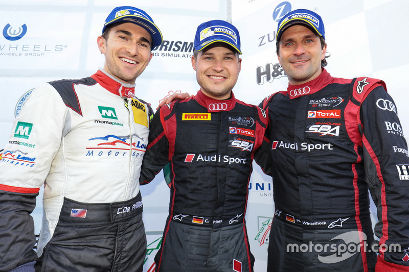 Connor De Phillippi, Christopher Mies, Markus Winkelhock, Audi Sport Team Land Motorsport, Audi R8 LMS