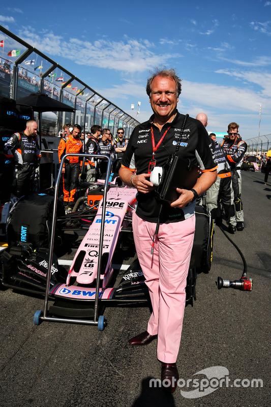 Robert Fernley, Sahara Force India F1 subdirector de equipo
