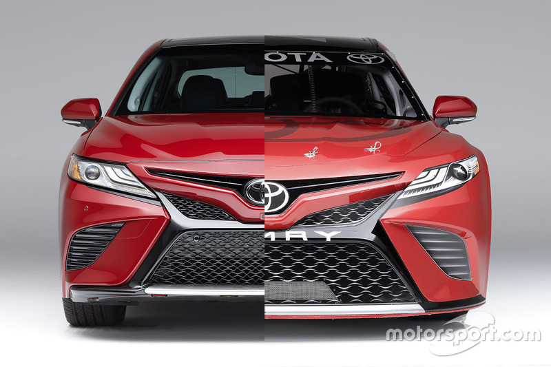 Toyota Camry для сезона-2017 NASCAR