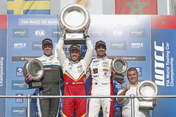 Podium: 1. Esteban Guerrieri, Campos Racing, Chevrolet RML Cruze TC1; 2. Thed Björk, Polestar Cyan Racing, Volvo S60 Polestar TC1; 3. Mehdi Bennani, Sébastien Loeb Racing, Citroën C-Elysée WTCC