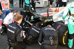 Автомобиль W08 Льюиса Хэмилтона, Mercedes AMG F1