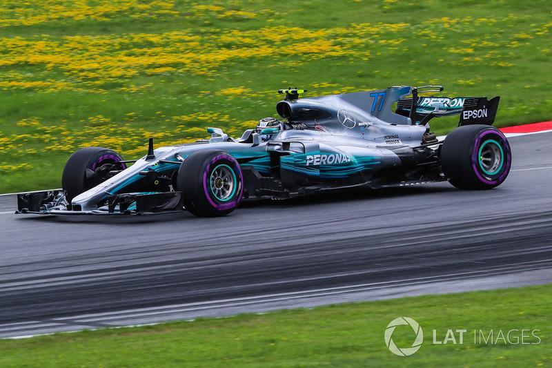 8º Valtteri Bottas, Mercedes AMG F1 F1 W08, Spielberg 2017. Tiempo: 1:04.251