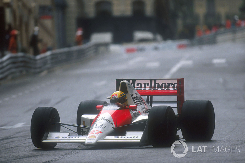 1990 Monaco: McLaren MP4/5B