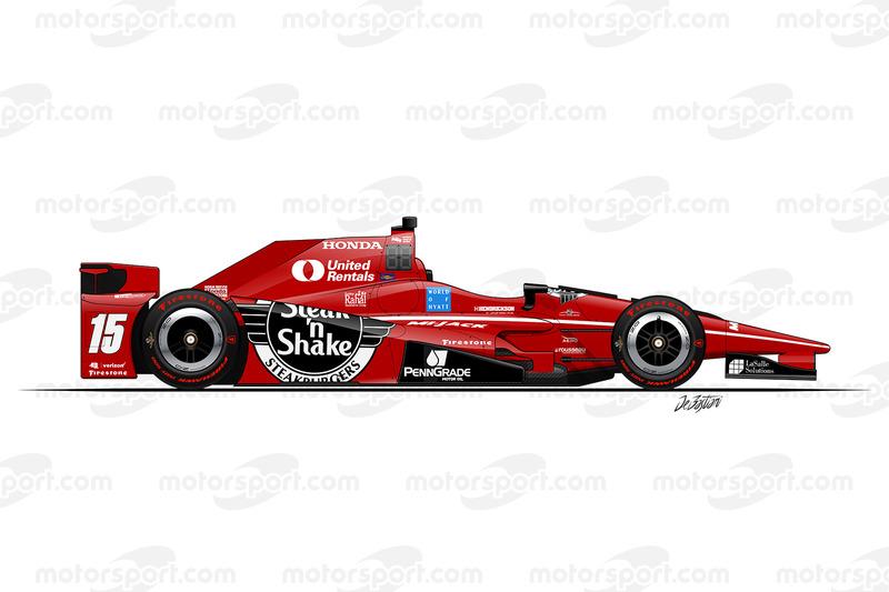 #15 - Graham Rahal, Rahal Letterman Lanigan Racing Honda