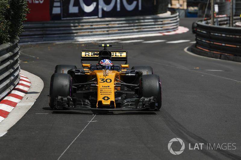 16: Джолион Палмер, Renault Sport F1 RS17