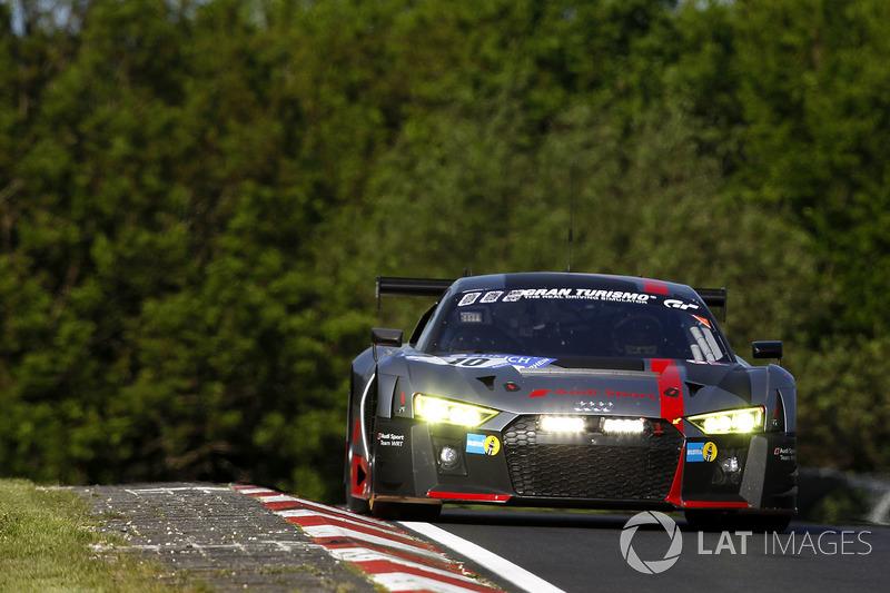 2. #10 Audi Sport Team WRT, Audi R8 LMS