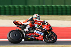 Chaz Davies, Ducati Team avec une flasque
