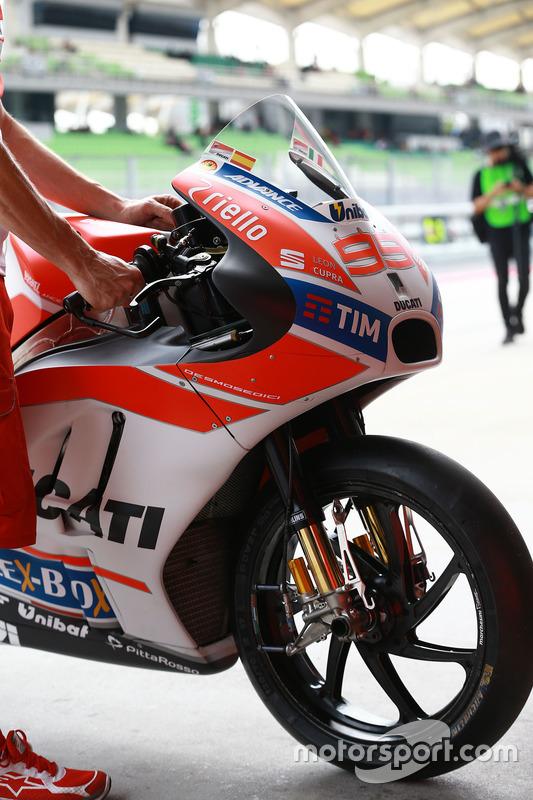 Moto de Jorge Lorenzo, Ducati Team