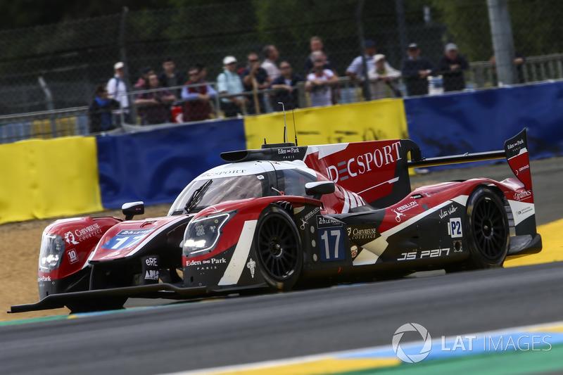 LMP2: #17 IDEC Sport Racing, Ligier JS P217 Gibson