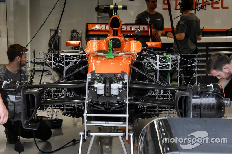 McLaren MCL32: Frontpartie