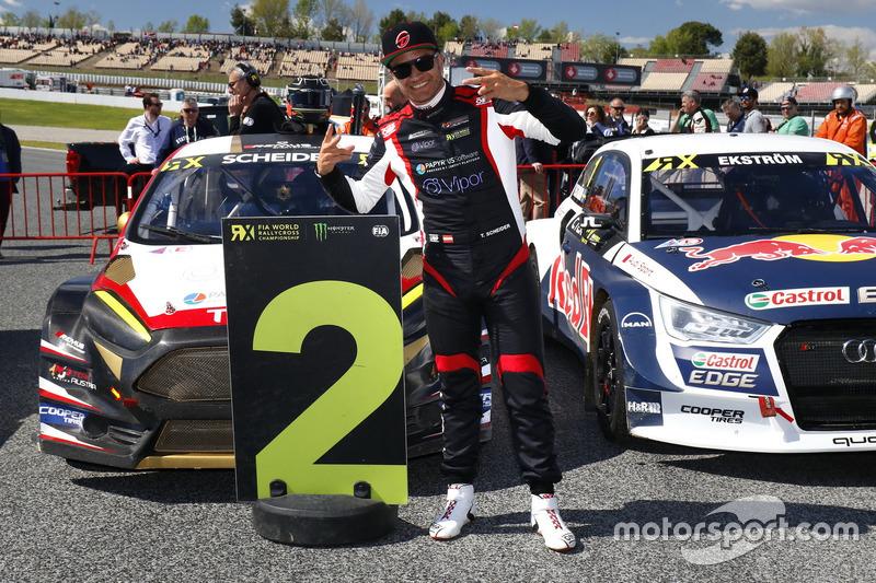 Il secondo classificato Timo Scheider, MJP Racing Team Austria, Ford Fiesta ST