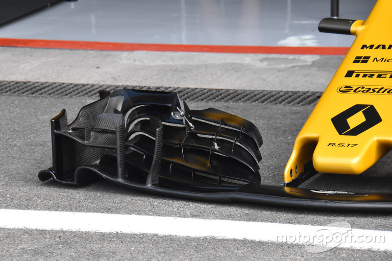 Renault Sport F1 Team RS17, front wing