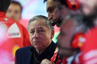 Jean Todt, FIA-Präsident, in der Ferrari-Box