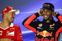 Себастьян Феттель, Ferrari, Даніель Ріккардо, Red Bull Racing