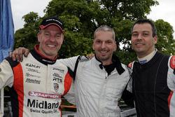 Marcel Steiner, Eric Berguerand, Christoph Lampert, podium