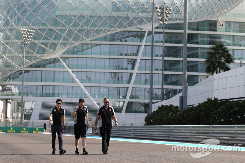 Trackwalk: Alfonso Celis Jr., Sahara Force India
