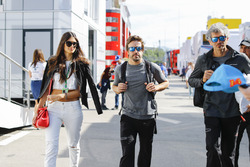 Fernando Alonso, McLaren, girlfriend Linda Morselli
