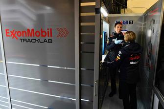 Red Bull Racing ExxonMobil engineer