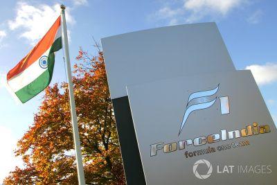 Force India fabrieksbezoek
