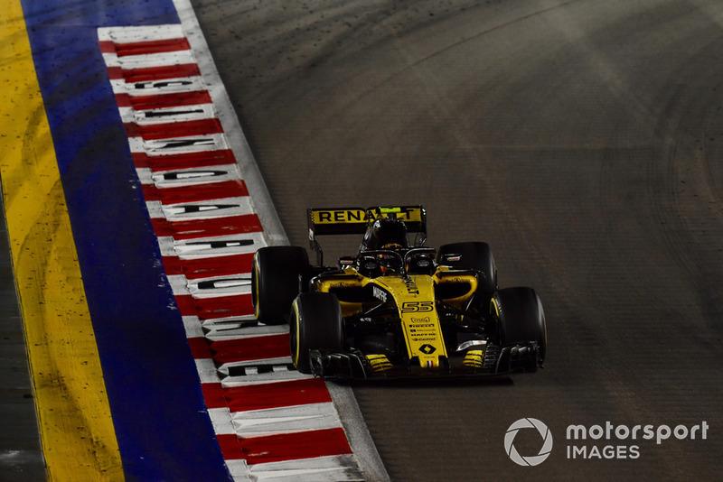 Oitavo, Carlos Sainz comemorou resultado logo atrás de Alonso
