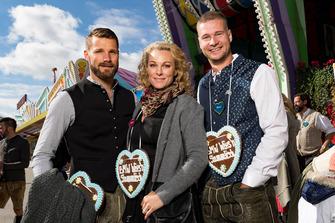 Martin Tomczyk, Christina Surer, Johannes Lochner